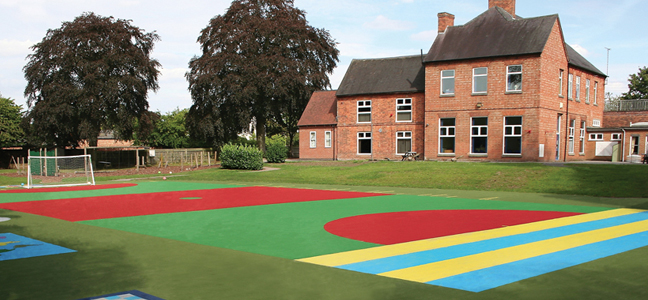 NottsSport ChildsPlay system installed by Wessex Grounds Services