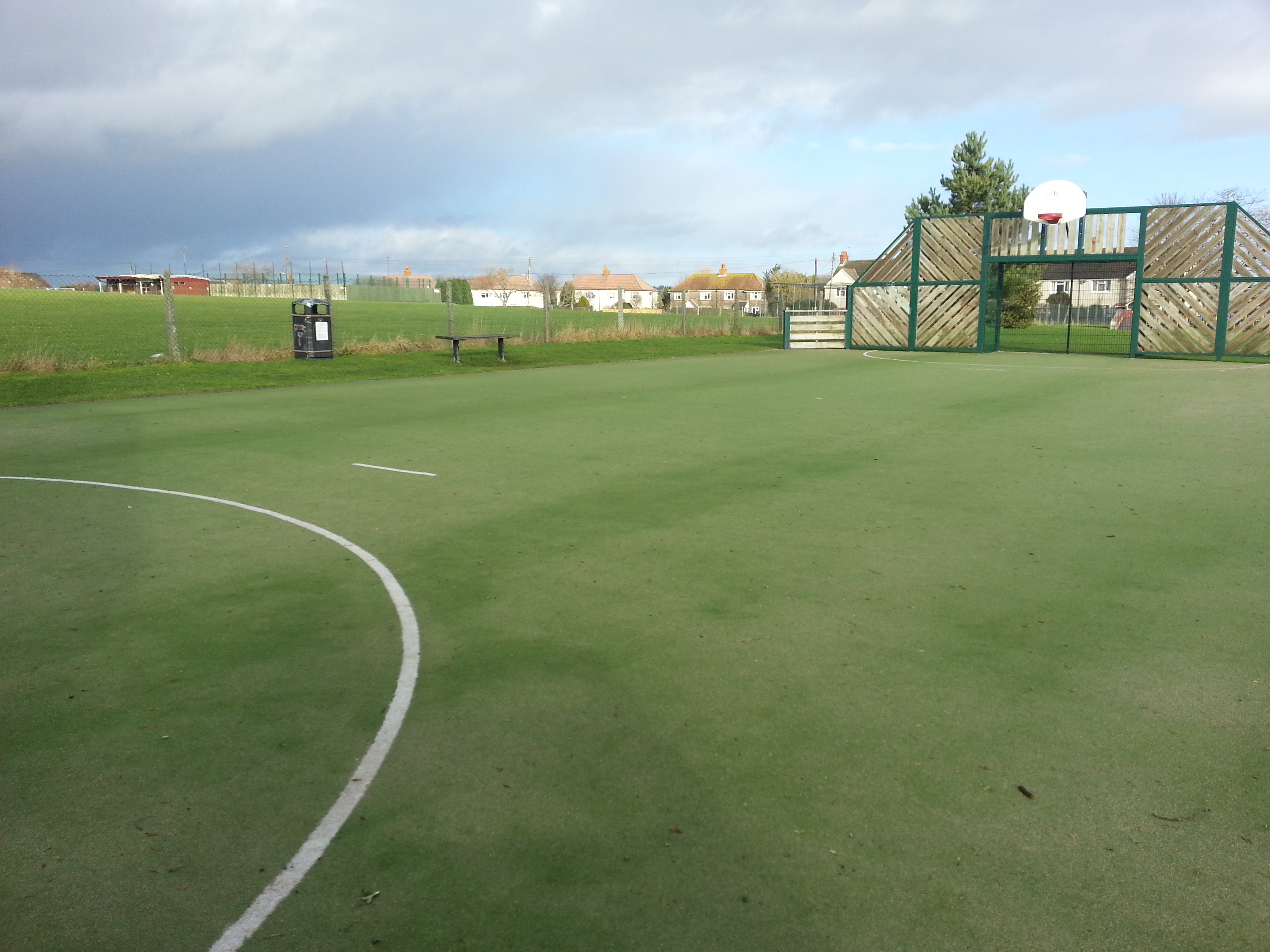 synthetic sports carpets and MUGA at Tisbury
