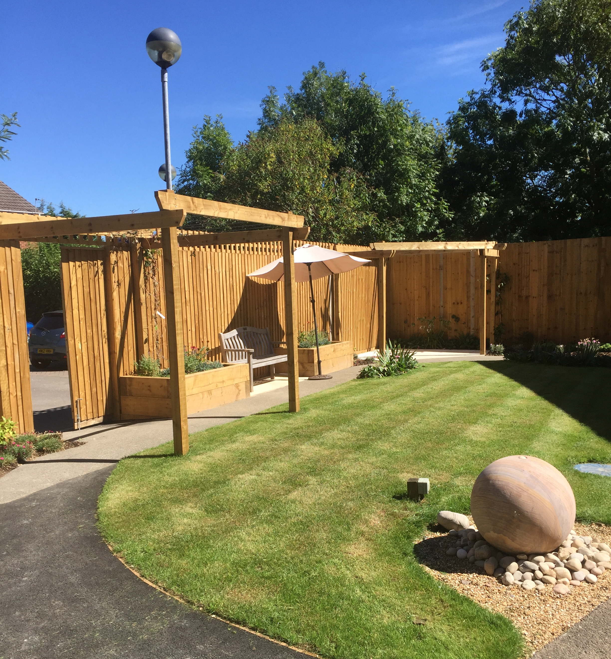 Wessex Grounds Services install Jacksons Fencing in and around Dorset