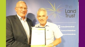 Wessex Grounds Services wins The Land Trust Award